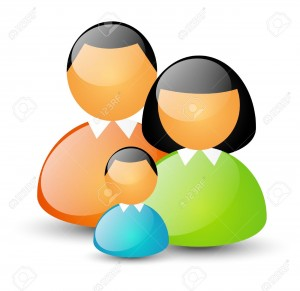 17565979-Parents-with-kid-family-icon-Stock-Vector-people